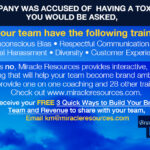 What would you do if a viral post shared that your company was accused of having a toxic workplace culture?